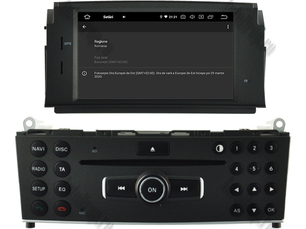 Navigatie Mercedes Benz C Class W204 (2007-2011) | 4+64GB 7