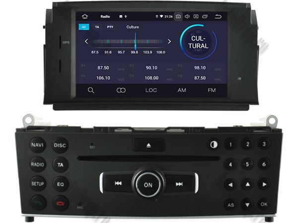 Navigatie Mercedes Benz C Class W204 (2007-2011) | 4+64GB 3