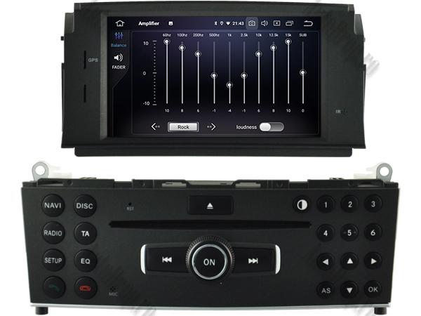 Navigatie Mercedes Benz C Class W204 (2007-2011) | 4+64GB 6