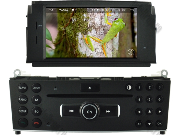 Navigatie Mercedes Benz C Class W204 (2007-2011) | 4+64GB 9