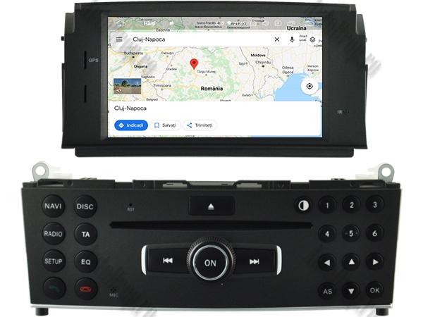 Navigatie Mercedes Benz C Class W204 (2007-2011) | 4+64GB 14