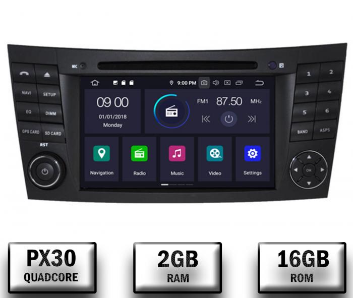 Navigatie Mercedes E-Class/CLS cu Android - AD-BGWMBW211P3 [0]