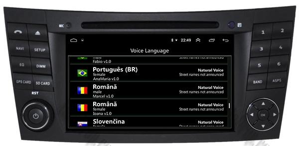 Navigatie Mercedes Benz E-Class/CLS Octacore 4GB+64 10
