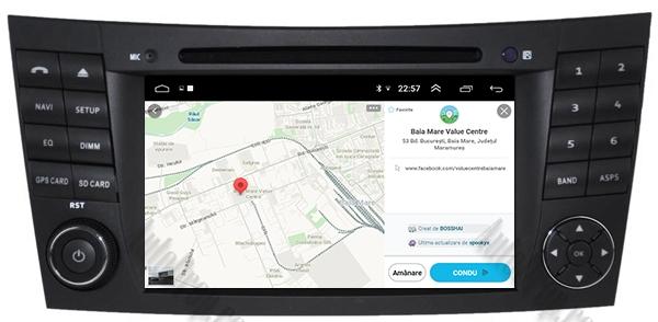 Navigatie Mercedes Benz E-Class/CLS Octacore 4GB+64 13