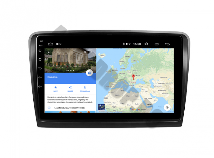 Navigatie Skoda Superb 2 Android 2+32GB | AutoDrop.ro 16