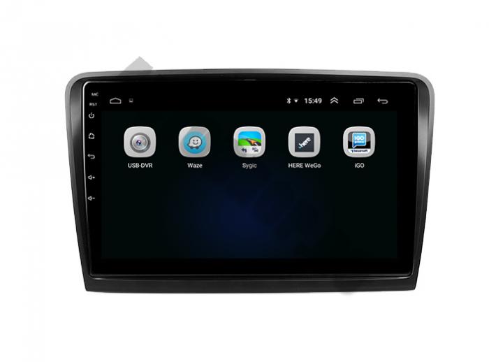 Navigatie Skoda Superb 2 Android 2+32GB | AutoDrop.ro 4