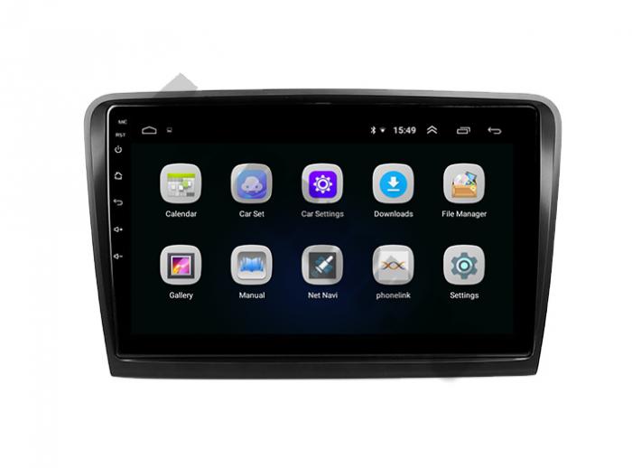 Navigatie Skoda Superb 2 Android 2+32GB | AutoDrop.ro 3