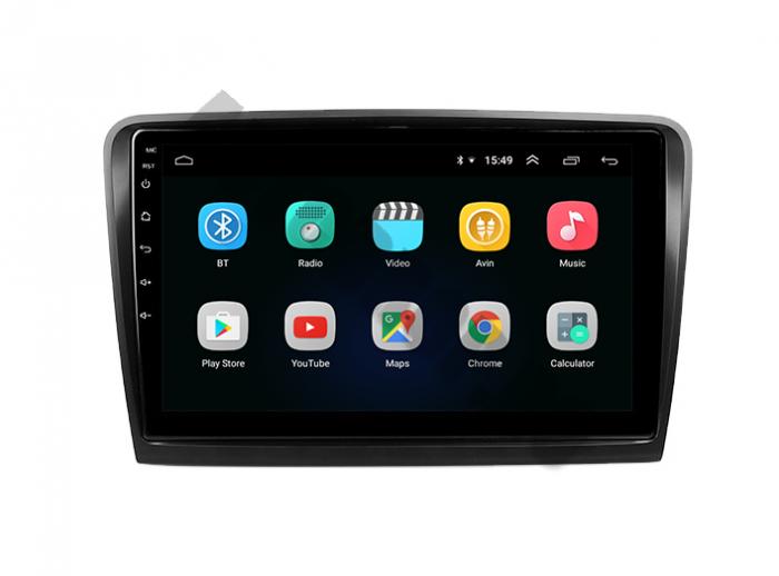 Navigatie Skoda Superb 2 Android 2+32GB | AutoDrop.ro 2