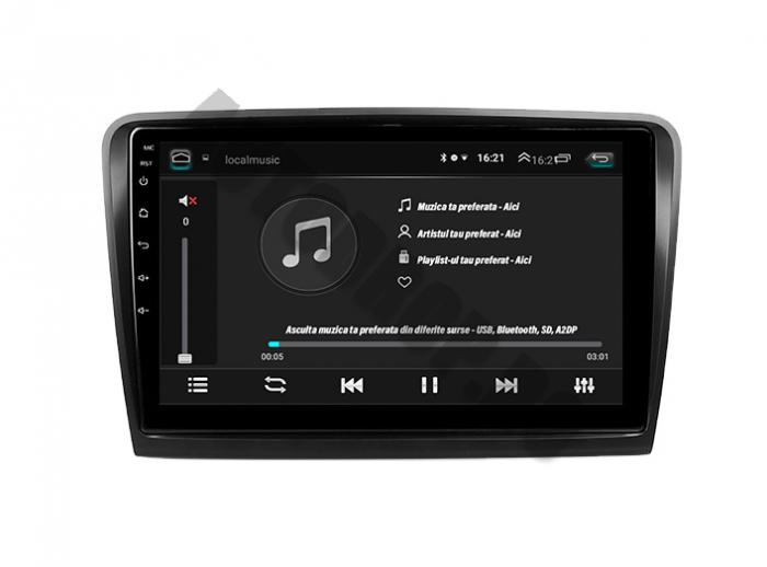 Navigatie Skoda Superb 2 Android 2+32GB | AutoDrop.ro 5