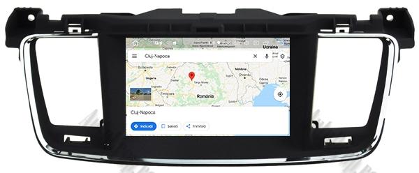 Navigatie Auto Peugeot 508 cu Android | 2GB + 16GB 21