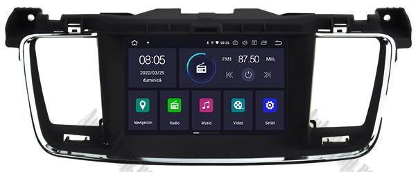 Navigatie Auto Peugeot 508 cu Android | 2GB + 16GB 18