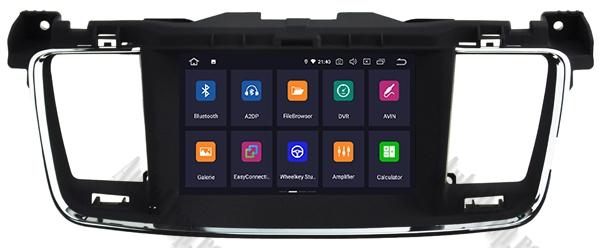 Navigatie Auto Peugeot 508 cu Android | 2GB + 16GB 22