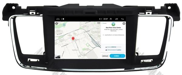 Navigatie Auto Peugeot 508 cu Android | 2GB + 16GB 17