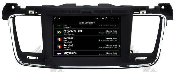 Navigatie Auto Peugeot 508 cu Android | 2GB + 16GB 16