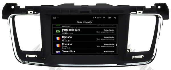 Navigatie Auto Peugeot 508 cu Android | 4GB + 64GB 8