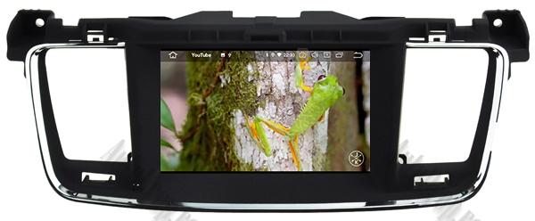 Navigatie Auto Peugeot 508 cu Android | 2GB + 16GB 13