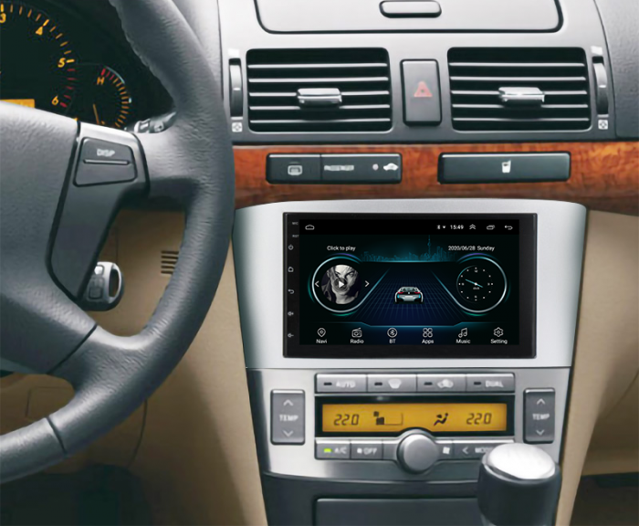 Navigatie Toyota Avensis 2004-2008 Negru | AutoDrop.ro 19