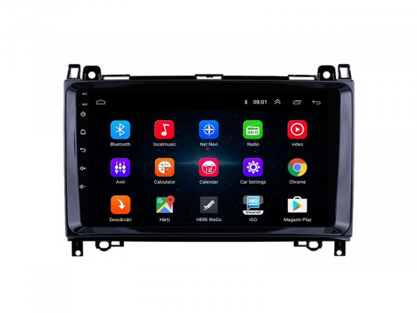 Navigatie Android Sprinter, Crafter 1+16GB | AutoDrop.ro 1