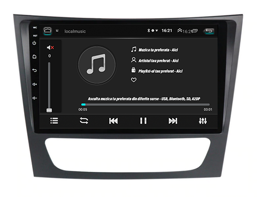 Navigatie Dedicata Mercedes Benz W211 | AutoDrop.ro 5