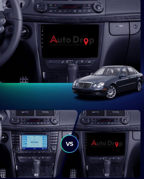 Navigatie Dedicata Mercedes Benz W211 | AutoDrop.ro 14