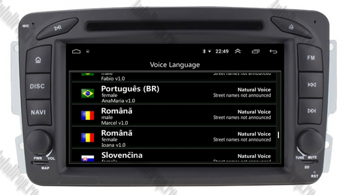 Navigatie Dedicata MB C-Class, Vito, Viano, CLK | AutoDrop.ro 8