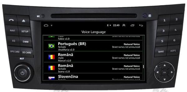 Navigatie Mercedes E-Class/CLS cu Android - AD-BGWMBW211P3 10