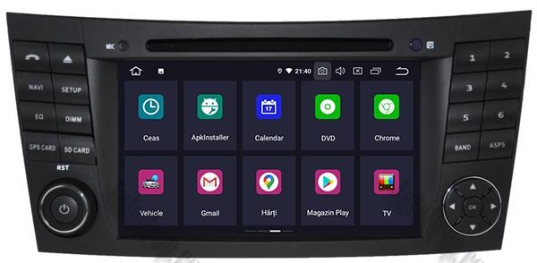 Navigatie Mercedes E-Class/CLS cu Android - AD-BGWMBW211P3 1