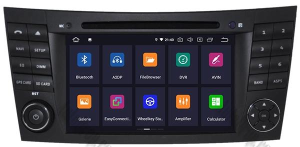 Navigatie Mercedes E-Class/CLS cu Android - AD-BGWMBW211P3 2