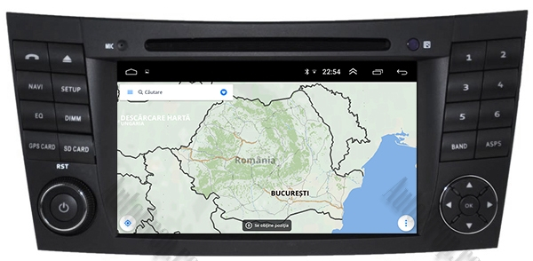 Navigatie Mercedes E-Class/CLS cu Android - AD-BGWMBW211P3 13