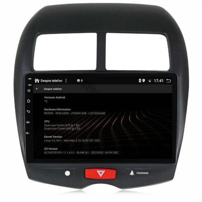 Navigatie Mitsubishi ASX Android 10 PX6 | AutoDrop.ro [14]