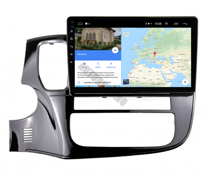Navigatie Android Mitsubishi Outlander 3 2GB | AutoDrop.ro [12]