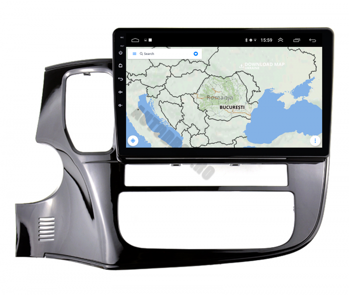 Navigatie Android Mitsubishi Outlander 3 2GB | AutoDrop.ro [13]