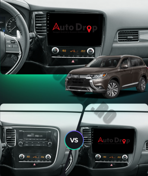 Navigatie Android Mitsubishi Outlander 3 2GB | AutoDrop.ro [17]