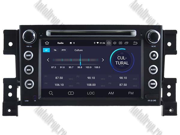 Navigatie Dedicata Suzuki Grand Vitara | 4+64gb 3