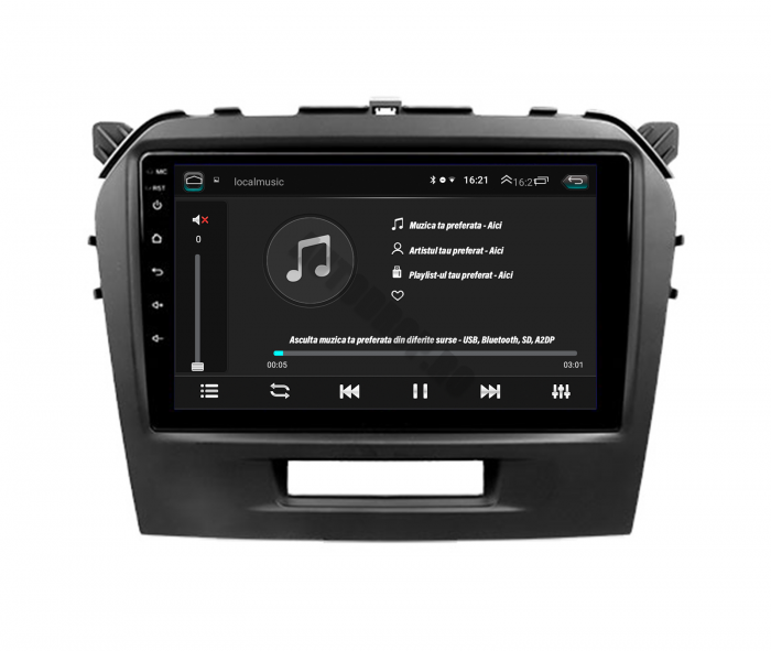 Navigatie Android Suzuki Vitara 2GB | AutoDrop.ro [4]