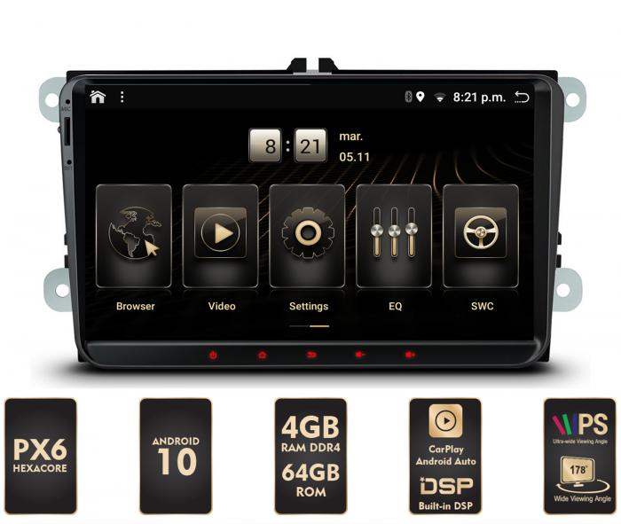 Navigatie Android Volkswagen/Skoda PX6 | AutoDrop.ro [0]