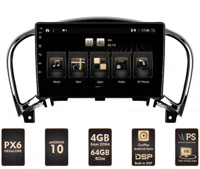 Navigatie Android 10 Nissan Juke | AutoDrop.ro [0]