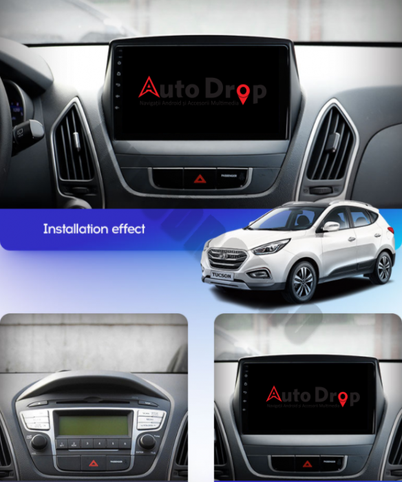Navigatie Android Hyundai IX35 1+16GB | AutoDrop.ro [15]