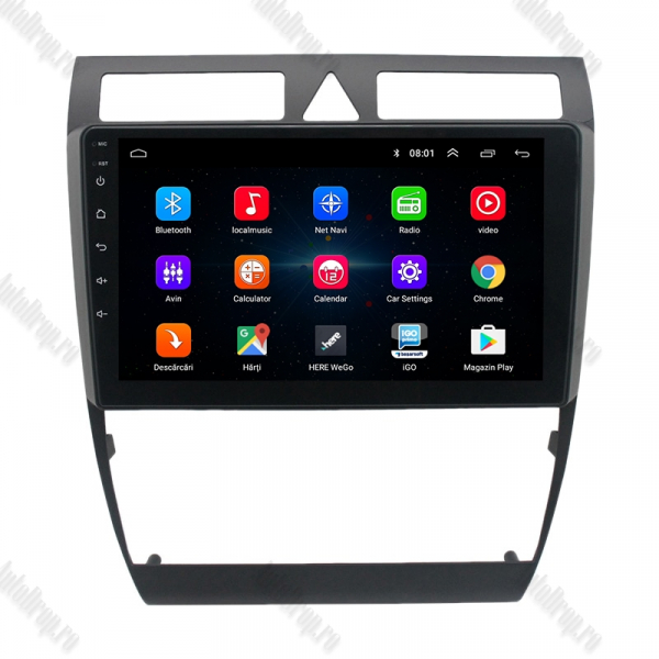Navigatie Android 2+32GB Audi A6 C5 | AutoDrop.ro 1