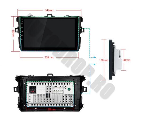 Navigatie Android Toyota Corolla 2+32GB | AutoDrop.ro 18