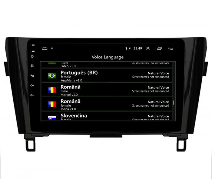 Navigatie Android 10 Nissan Qashqai/X-trail | AutoDrop.ro [13]