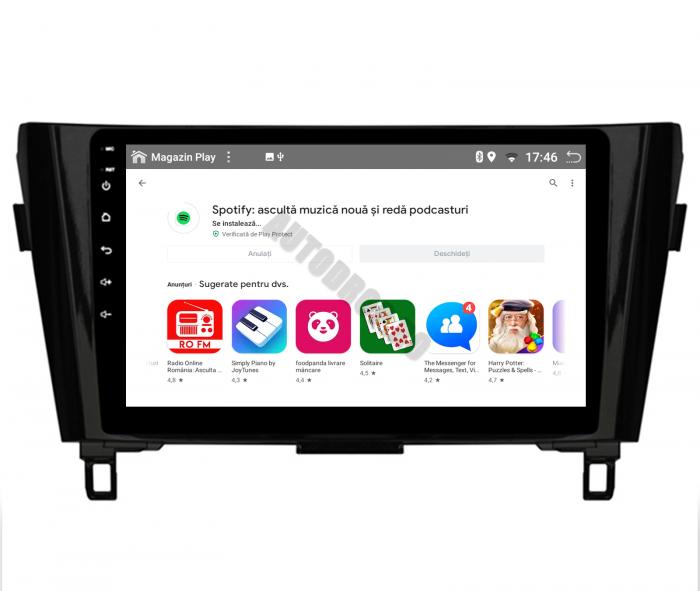 Navigatie Android 10 Nissan Qashqai/X-trail | AutoDrop.ro [10]