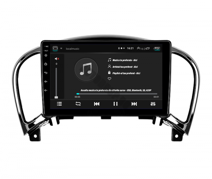 Navigatie Nissan Juke 2010-2015 2+32GB   AutoDrop.ro [4]