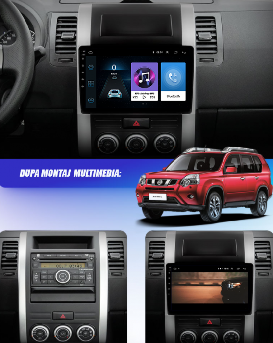 Navigatie Nissan X-Trail, Android, 2+32GB   AutoDrop.ro [19]