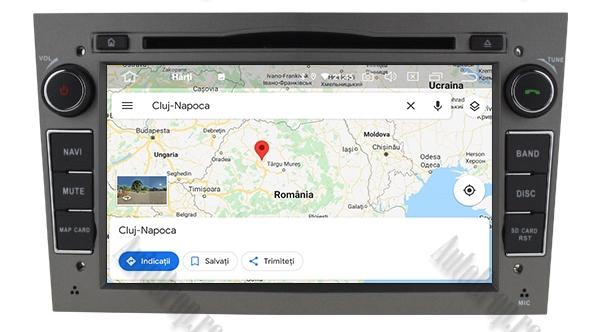 Navigatie GPS Opel Android 4GB RAM si 64GB ROM 13