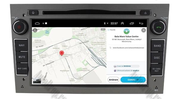 Navigatie GPS Opel Android 4GB RAM si 64GB ROM 14