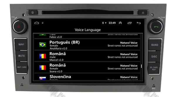 Navigatie GPS Opel Android 4GB RAM si 64GB ROM 8