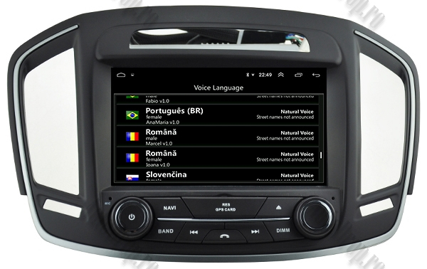 Navigatie Android Opel Insignia 2014 2GB +16GB ROM 7