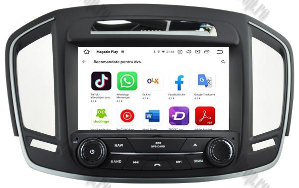 Navigatie Android Opel Insignia 2014 2GB +16GB ROM 10