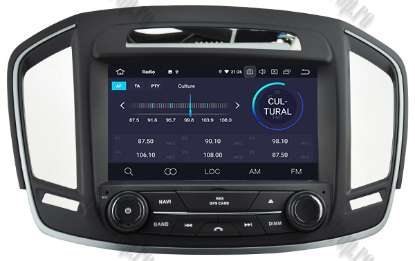 Navigatie Android Opel Insignia 2014 2GB +16GB ROM 3